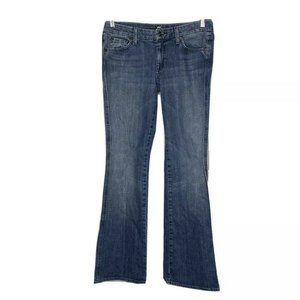 7 For All Mankind A Pocket Bootcut Jeans 30